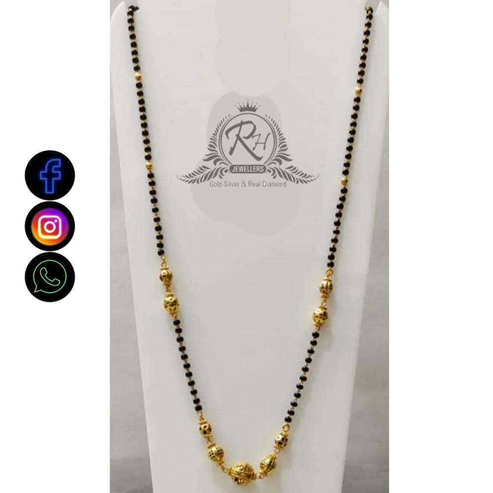 22 carat gold classical ladies mangalsutra RH-LM486
