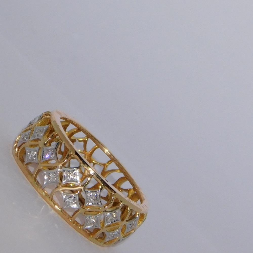 18K gold diamond ring agj-lr-272