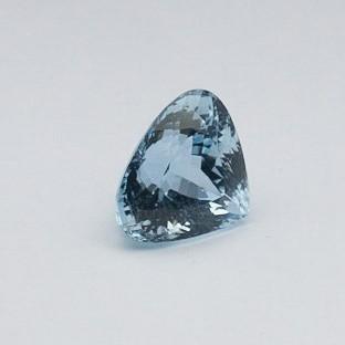 13.370ct trillion sky-blue aquamarine