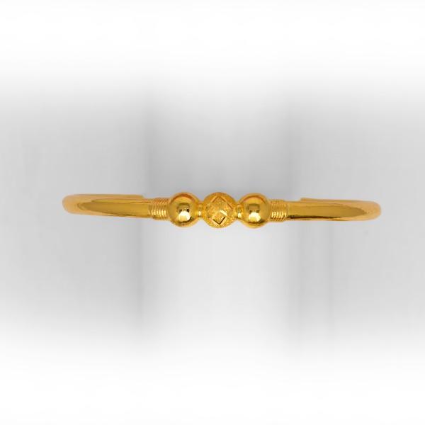 24 kt gold copper kadli