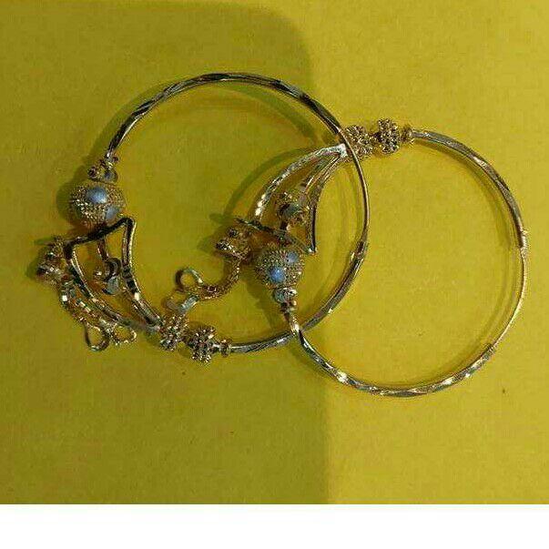 20KT Gold Fancy Ladies Nakhli Earrings