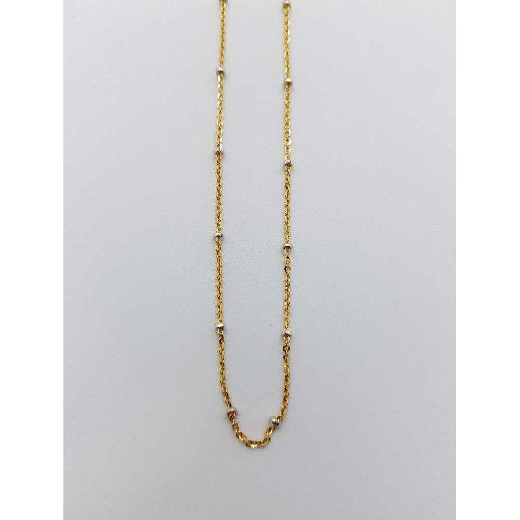 Gold Rhodium chain SJ-CHIN/55