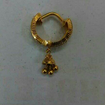 18kt Gold Fancy Earrings