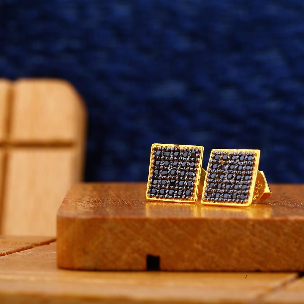 916 Gold Fancy Classic Earring ME11