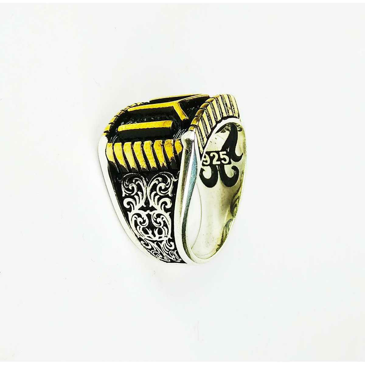 Expensive 925 Silver IYI Gents Ring