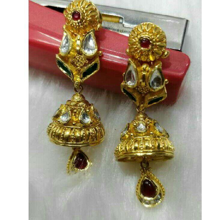 916 Gold Antique Ladies Earring