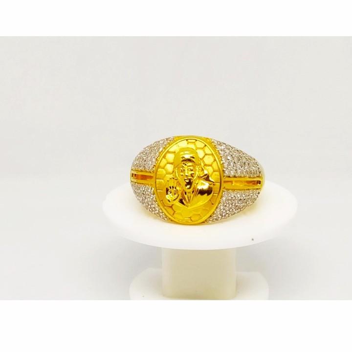 22 K Gold Fancy Ring. NJ-R0738