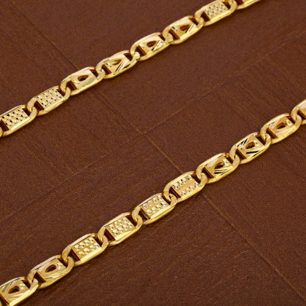 Mens 916 Nawabi Gold Chain-MNC41