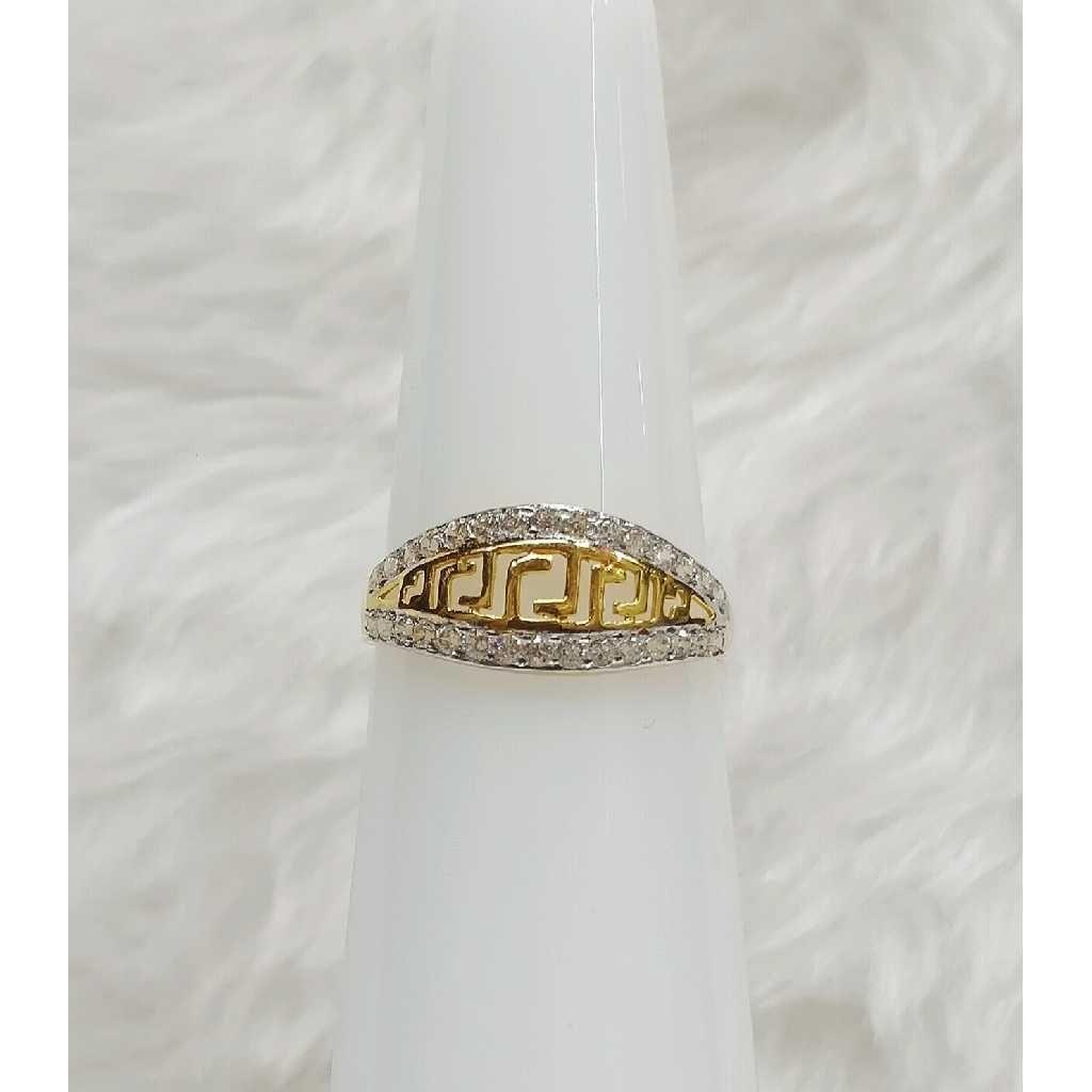 916 Fancy Designer CZ Casting Ring