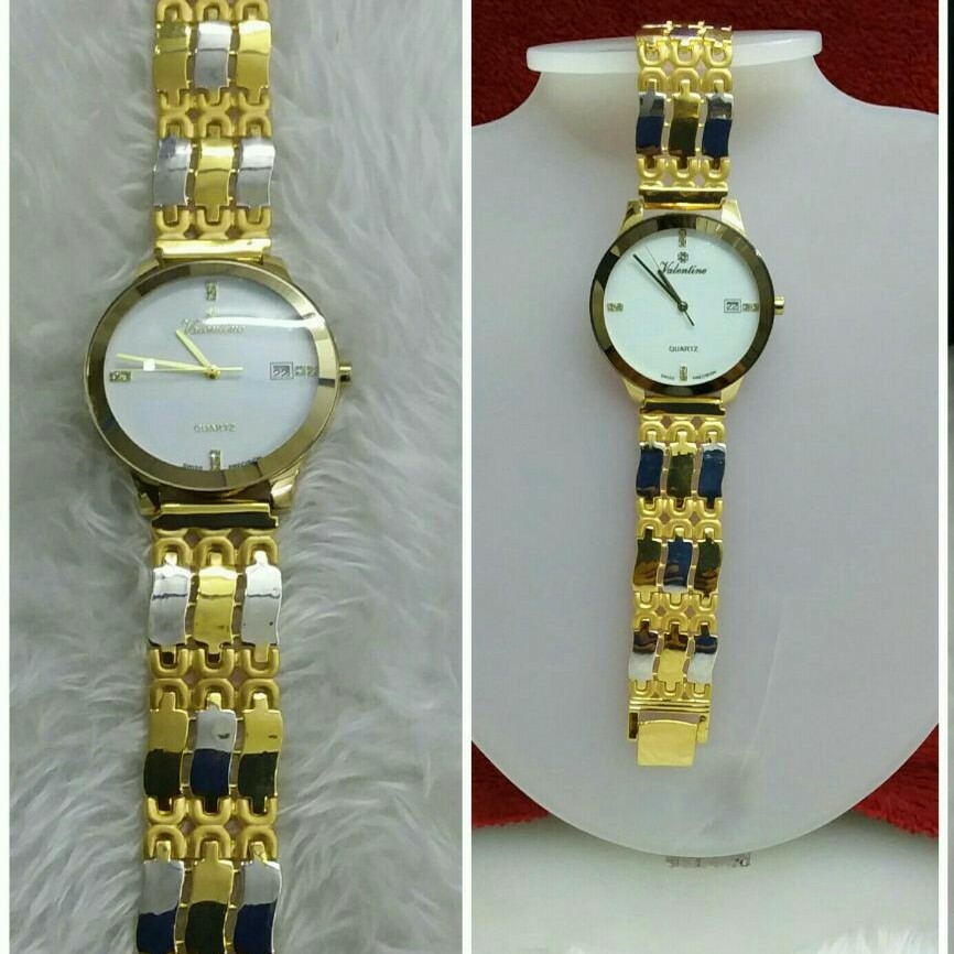 Gold Fancy Watch
