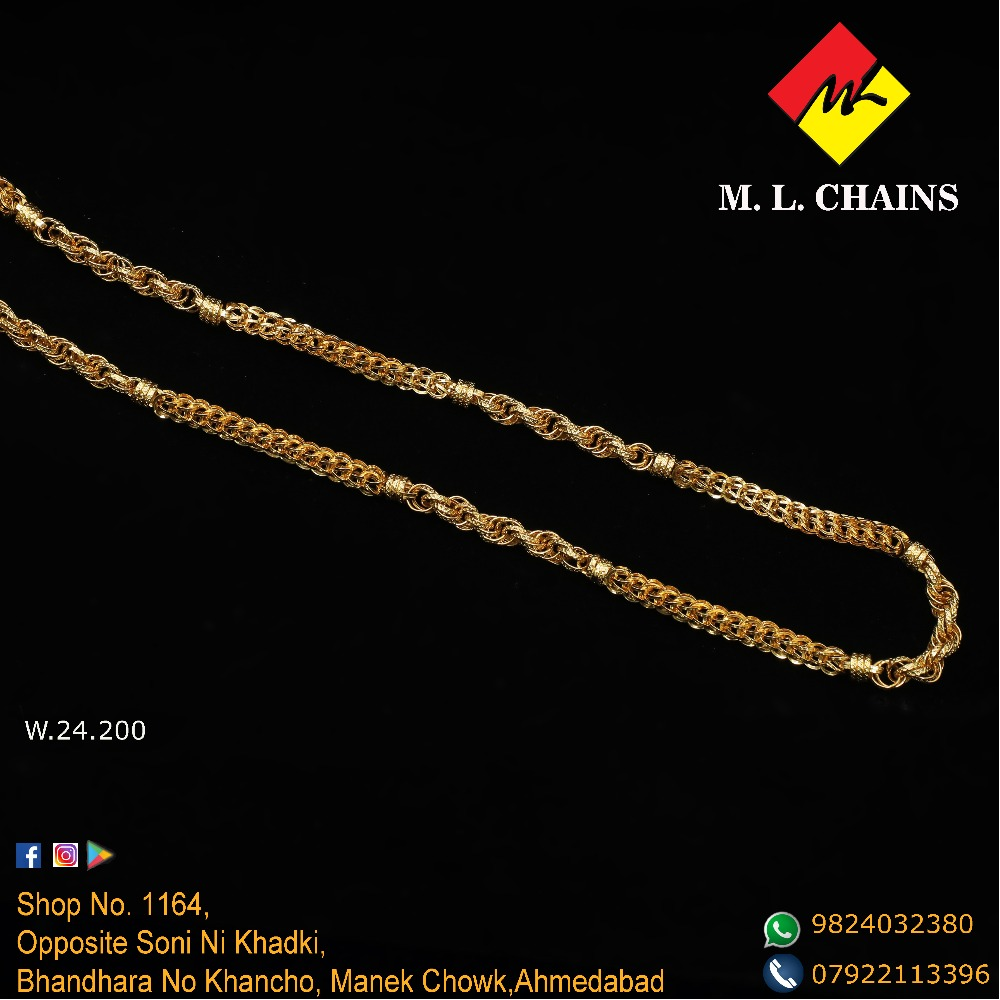 916 Gold Designer Chain ML-C11