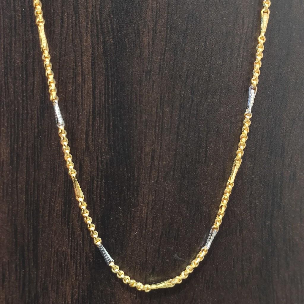 916 gold handmade chain 10 gram