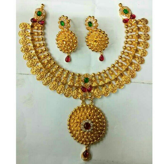 916 Classic Gold Necklace Set