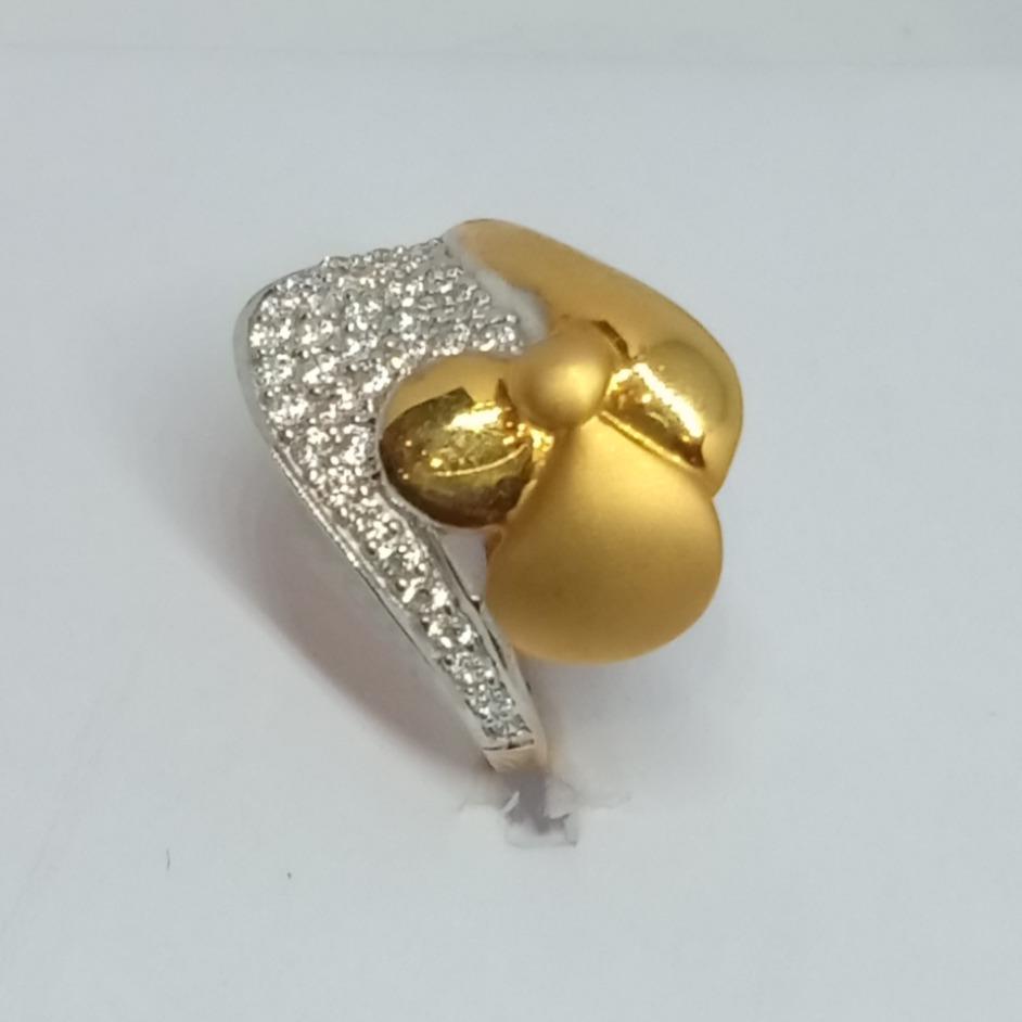 22KT Gold Ladies Ring LJ-14