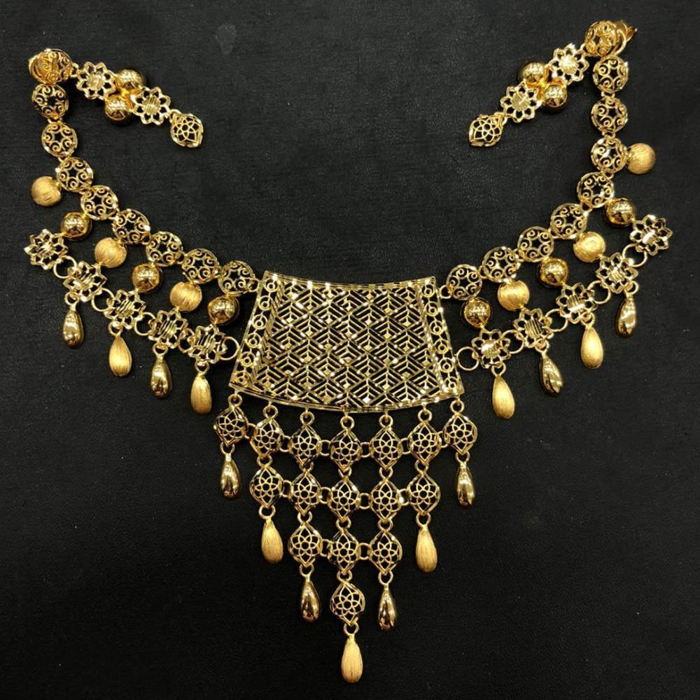 Exclusive Gold Necklace Set