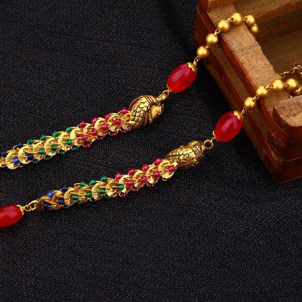 22kt Gold Executive  Antique Chain Mala AC156