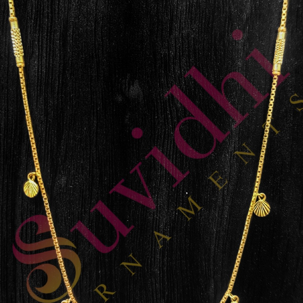 22 carat gold lightweight ladies chain 5gm