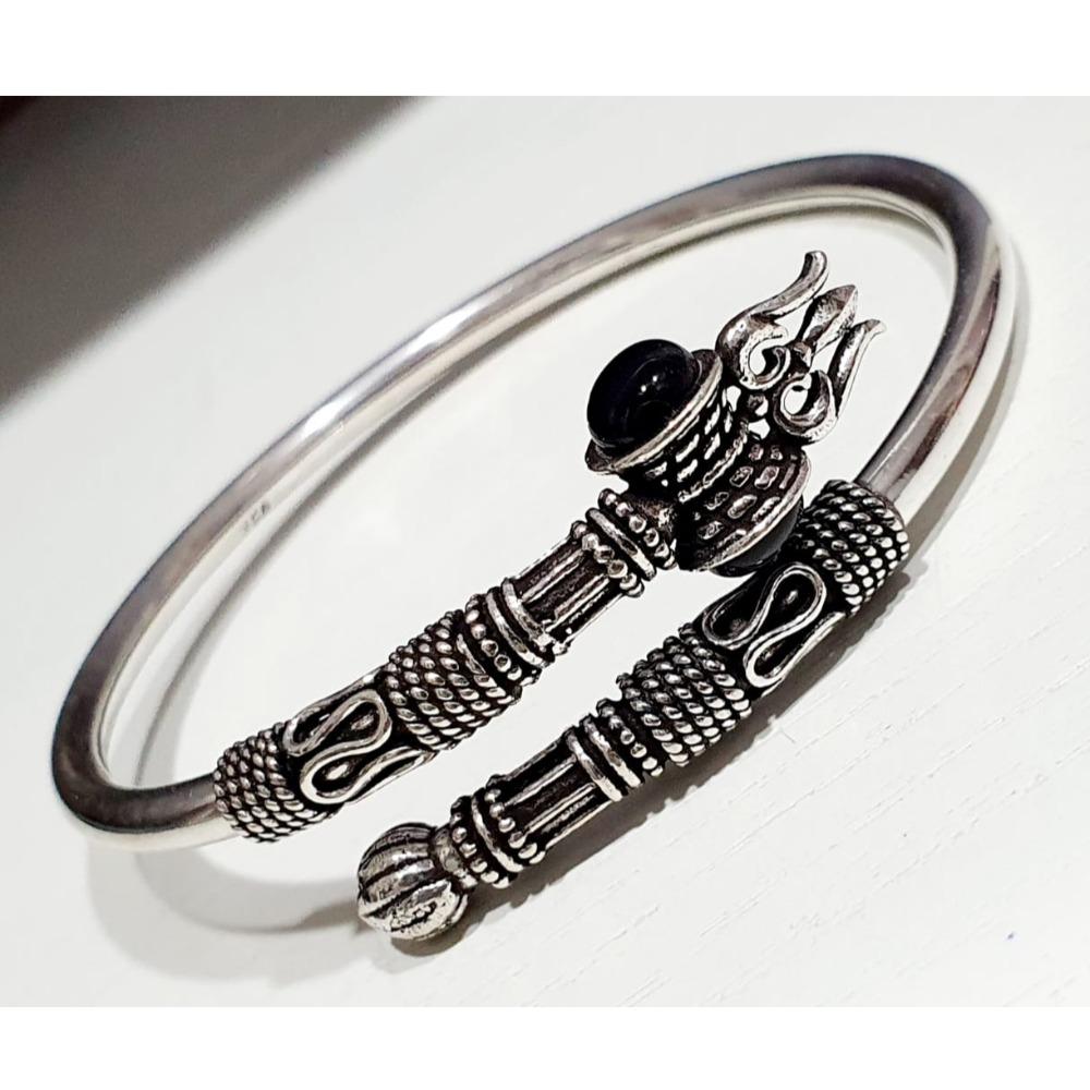925 Sterling Silver Adjustable Bracelet For Men VJ-B001