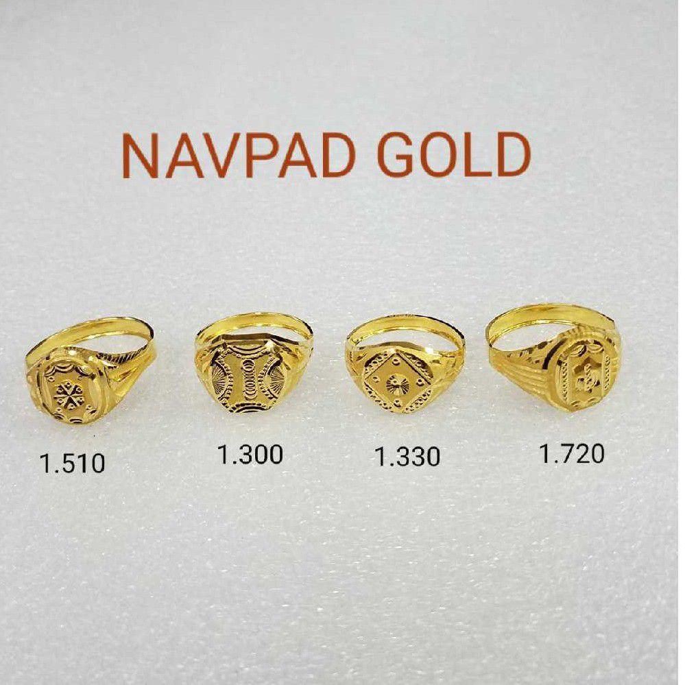 20kt gold rings NG-R013