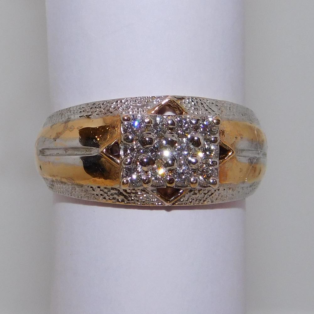 18K gold diamond ring agj-gr-153