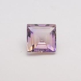 11.85ct square purple ametrine