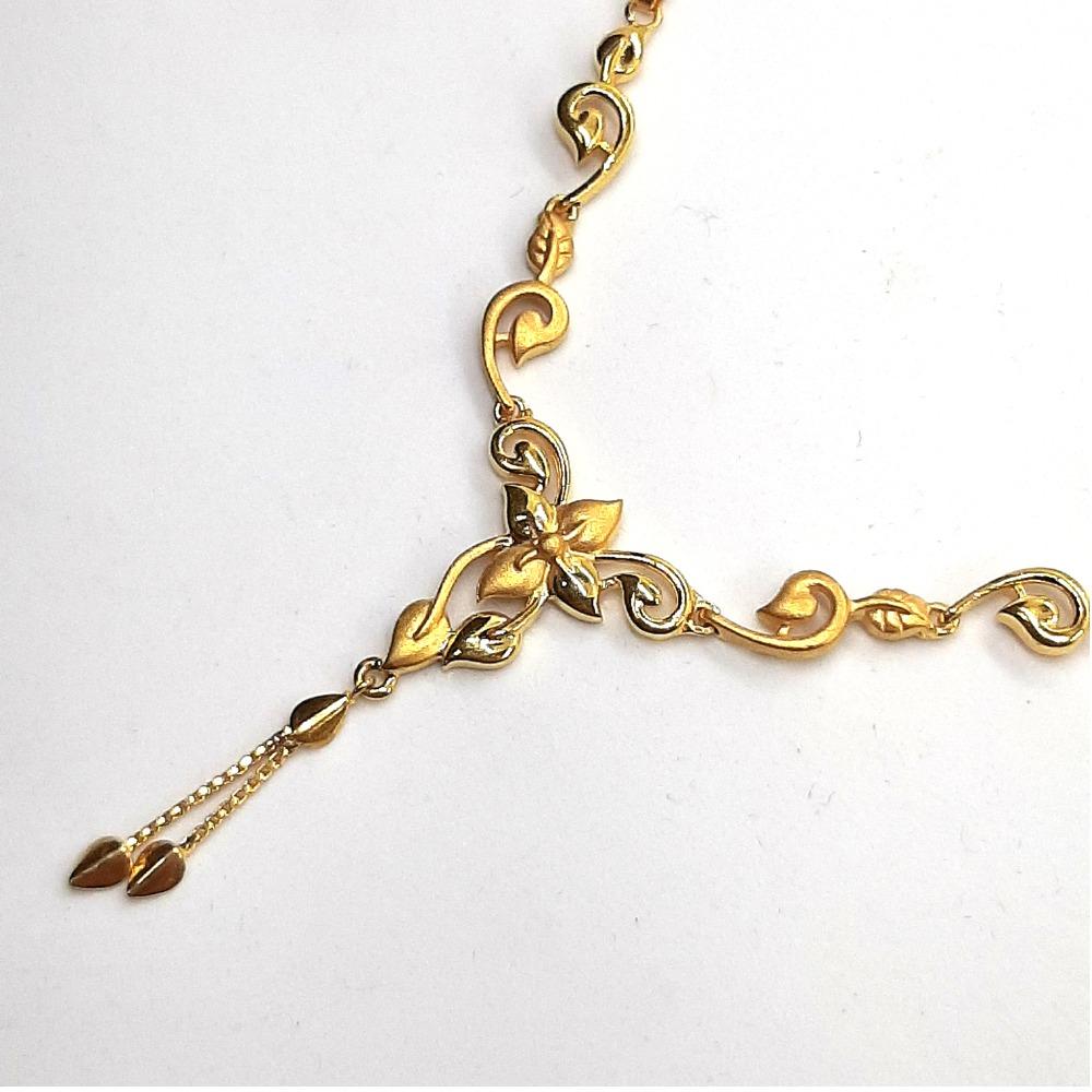 916 Gold Necklace Set SK-N007