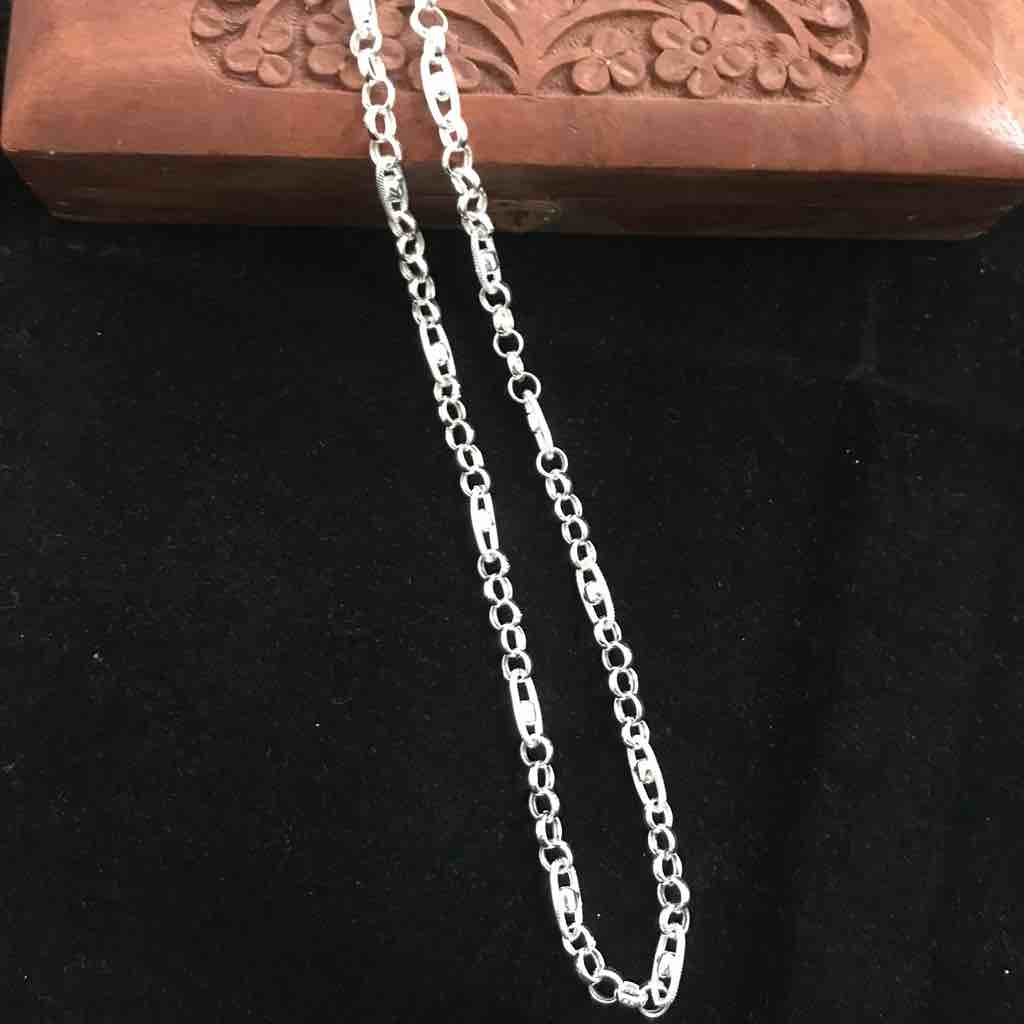 925 silver Indo Italian Hollow chain