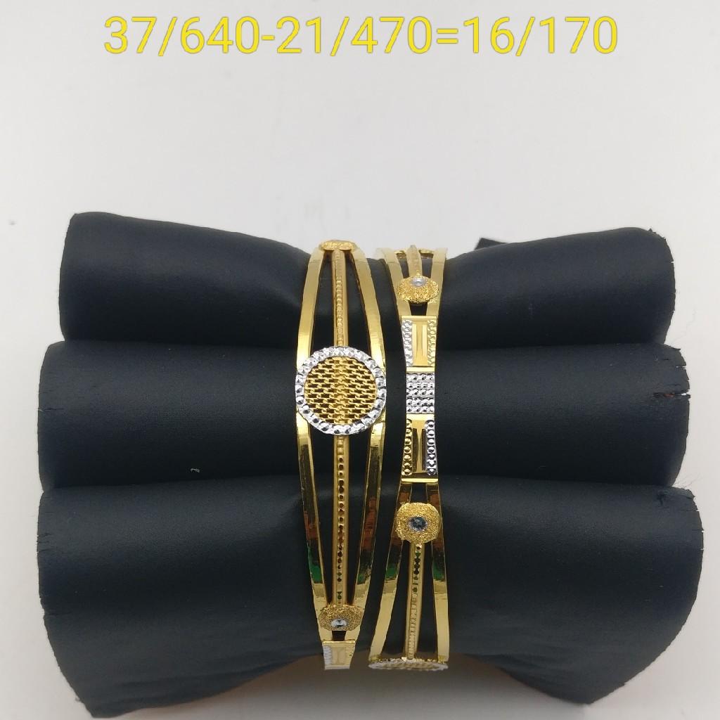 916 copper Bangles Kadli design