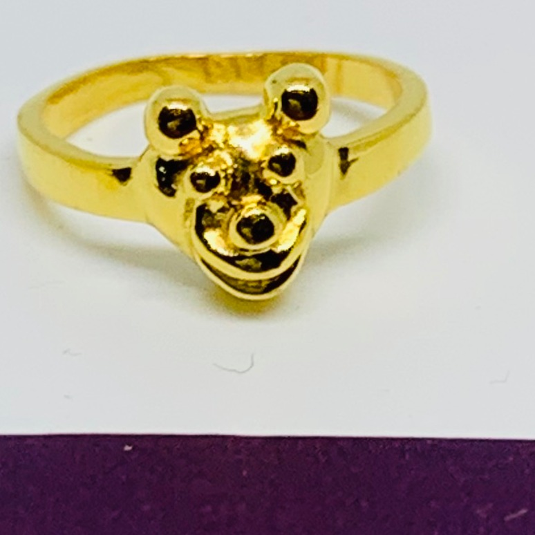 916 Gold Plain Casting Baby Rings