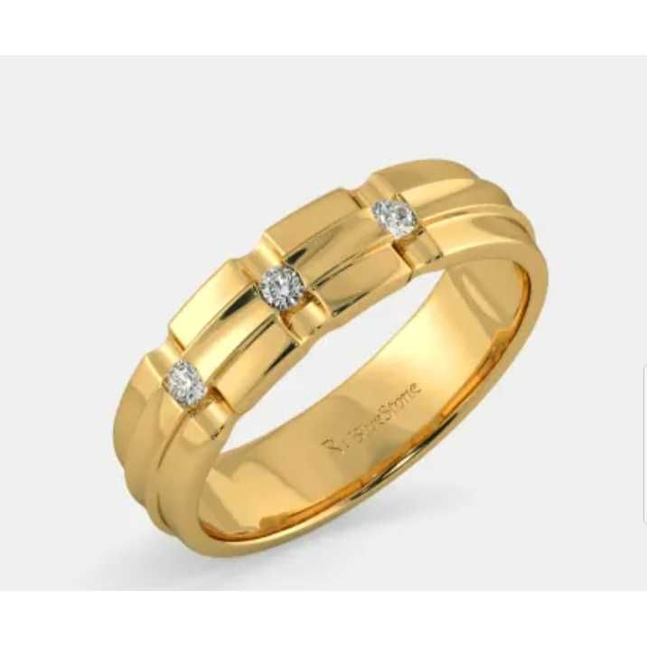 18 Ct Fancy Gents Ring 113