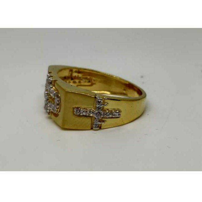 22k men's exclusive fancy ring