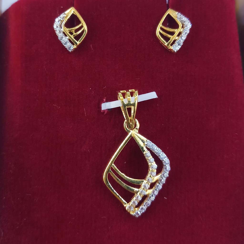 fancy pendant set