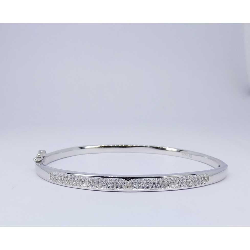 92.5 Sterling Silver Ladies Kada
