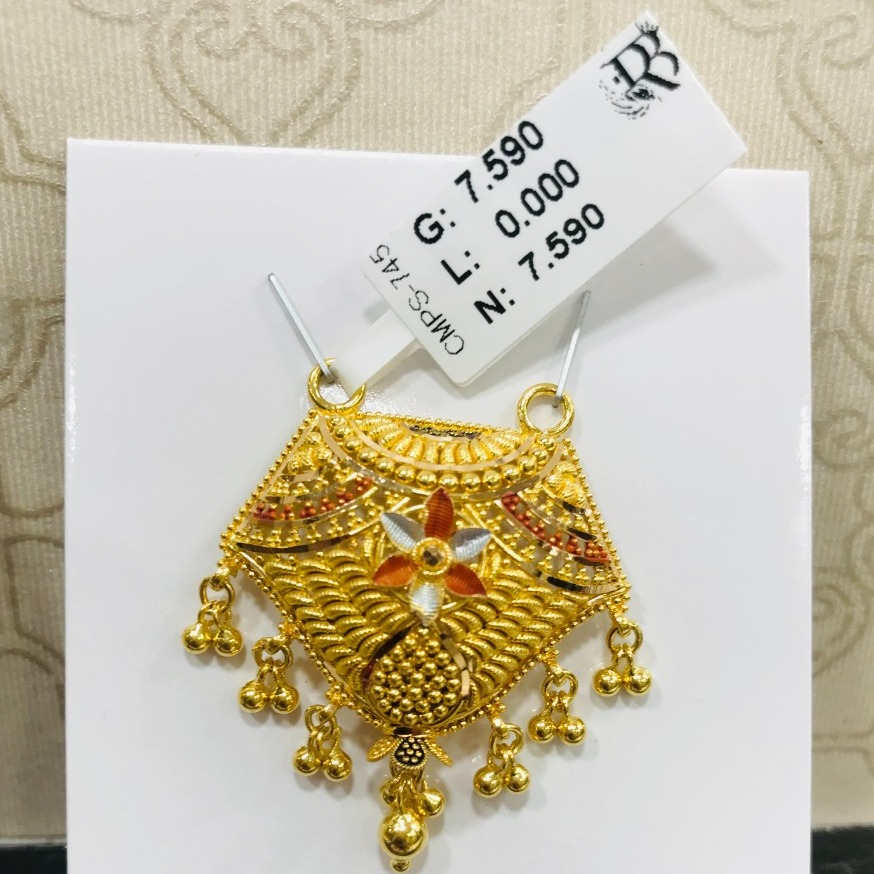 22 carat gold traditional ladies mngalsutra RH-MN794