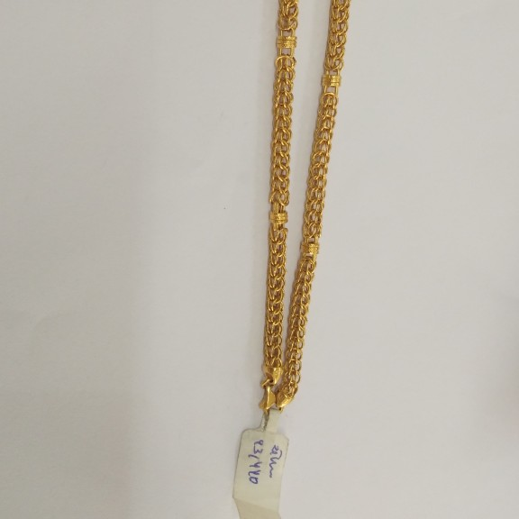 916 gold antique chain ew3883