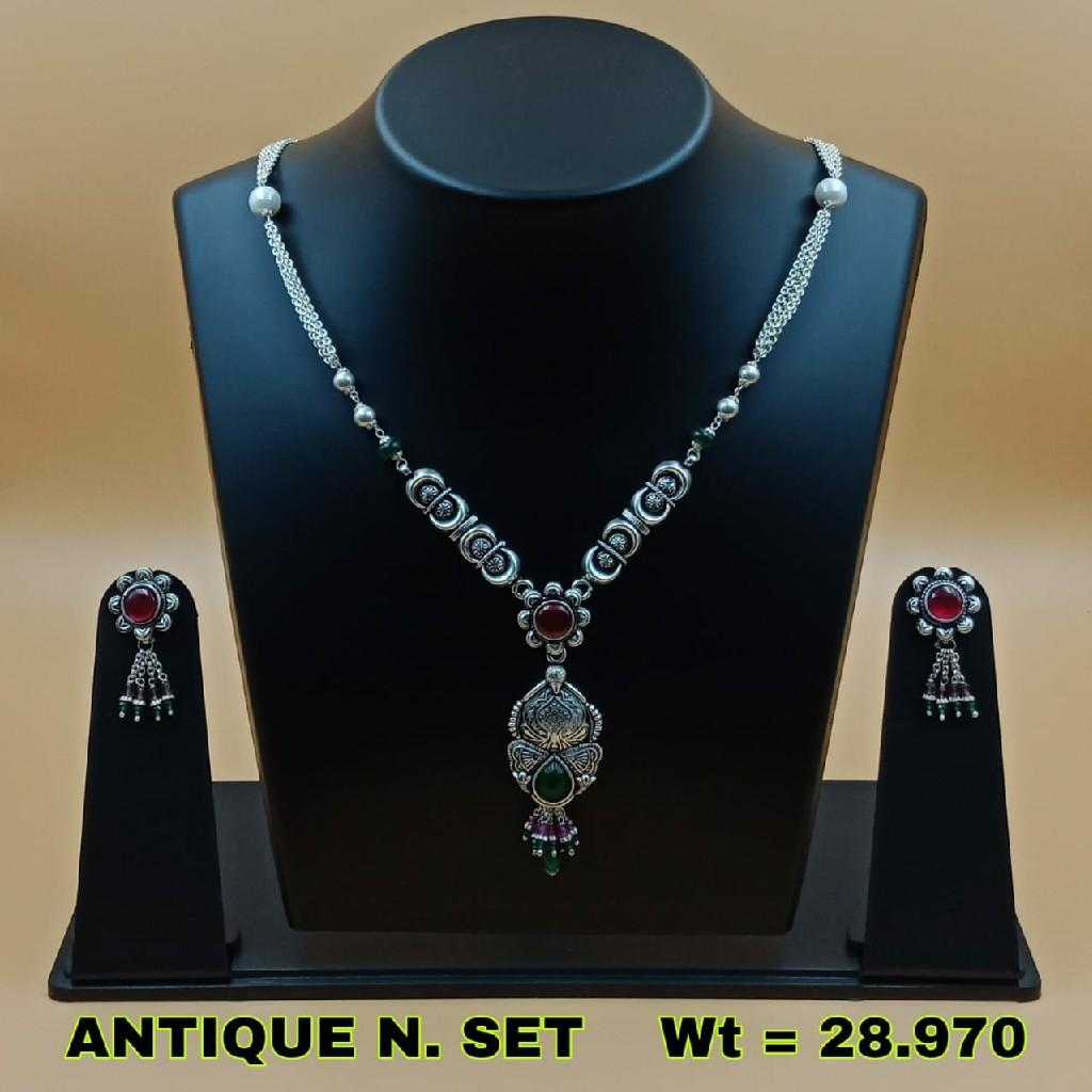 92.5 ANTIQUE NECKLACE SET SL N021
