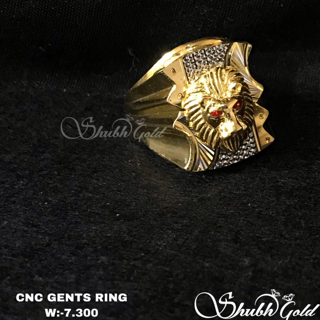 Lion Shape Gents Ring