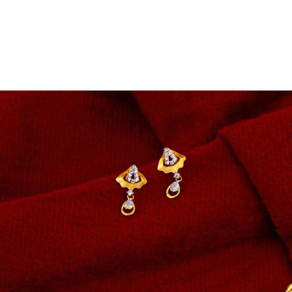 22ct  Gold Designer Chain Necklace CN76