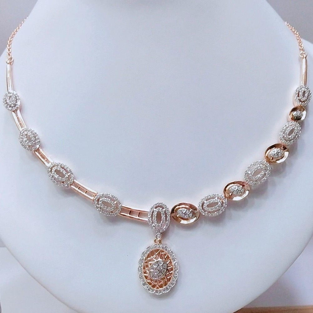 Rose Gold Plated Classic Necklace VJ-N011