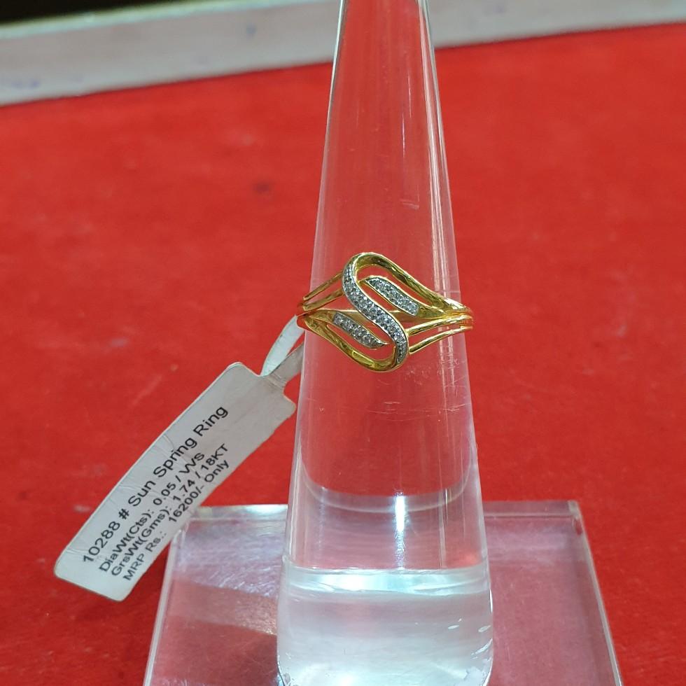 Kisna Real Diamond Ladies Ring
