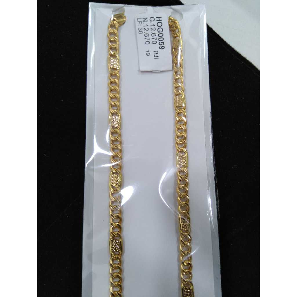 22KT Handmade Hollow Chain