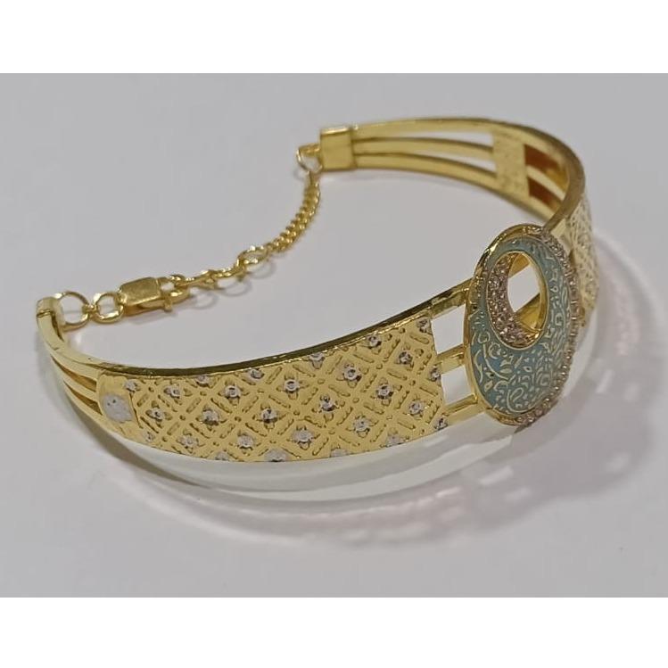 916 Gold Attractive Bracelet For Women SG-B12