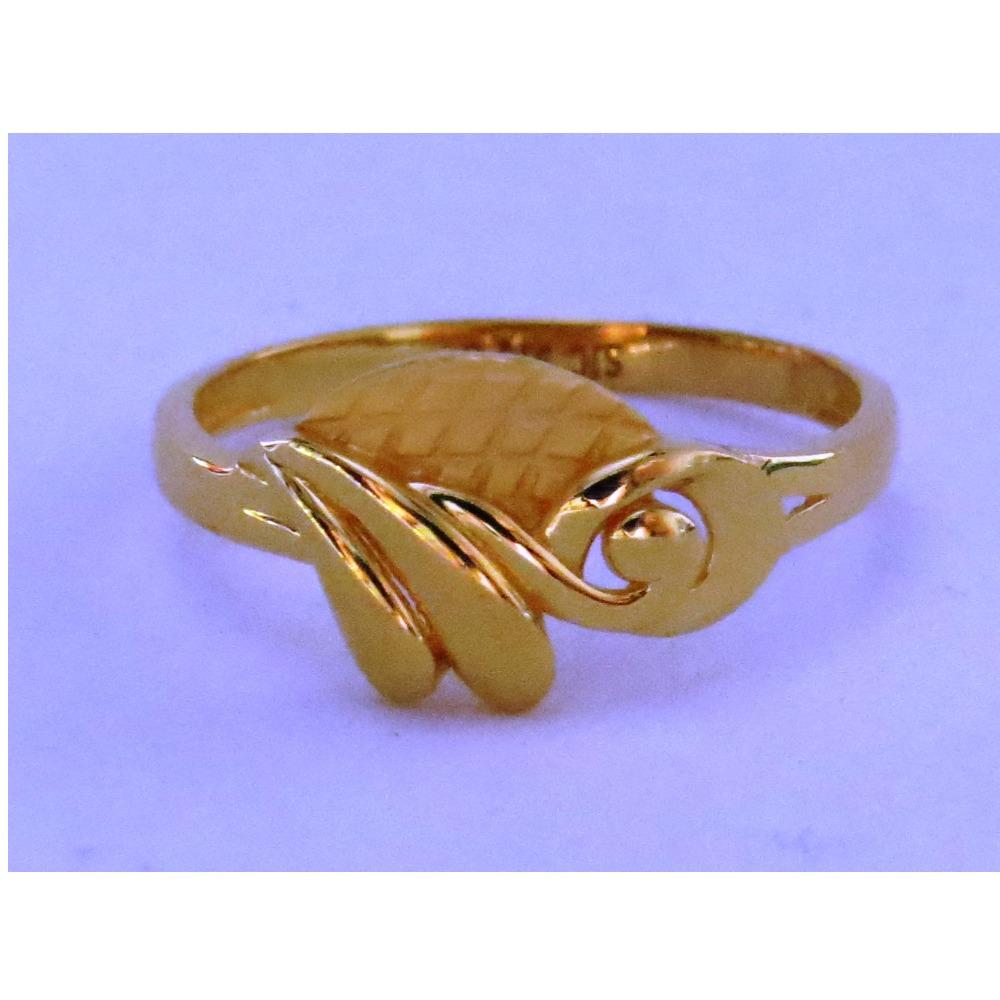 916 plain casting fancy ring