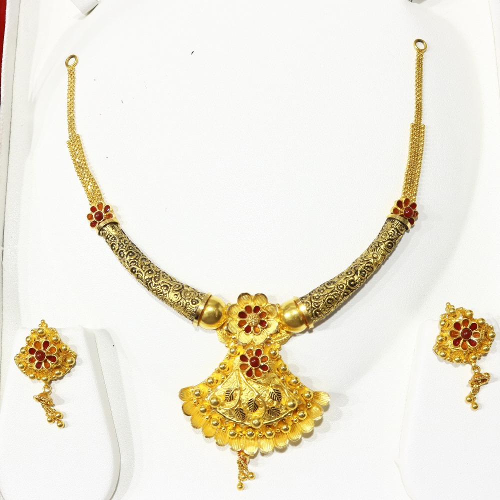 Antique necklase set BJ_ANS-1