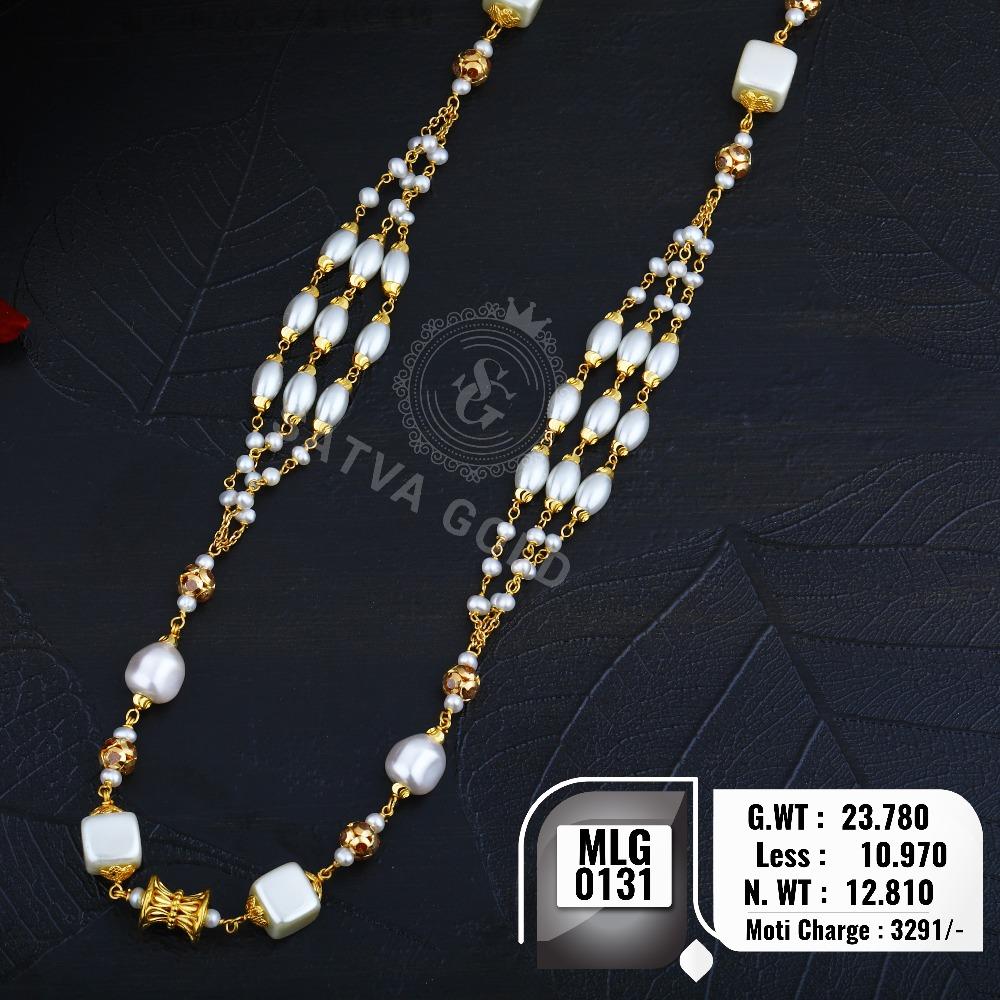 916 gold mala MLG-0131