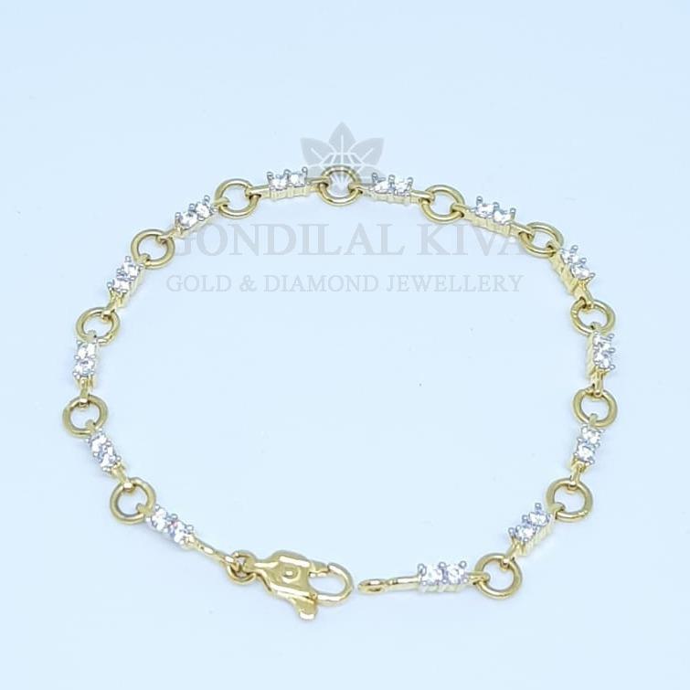 22kt gold bracelet lgbrhm16