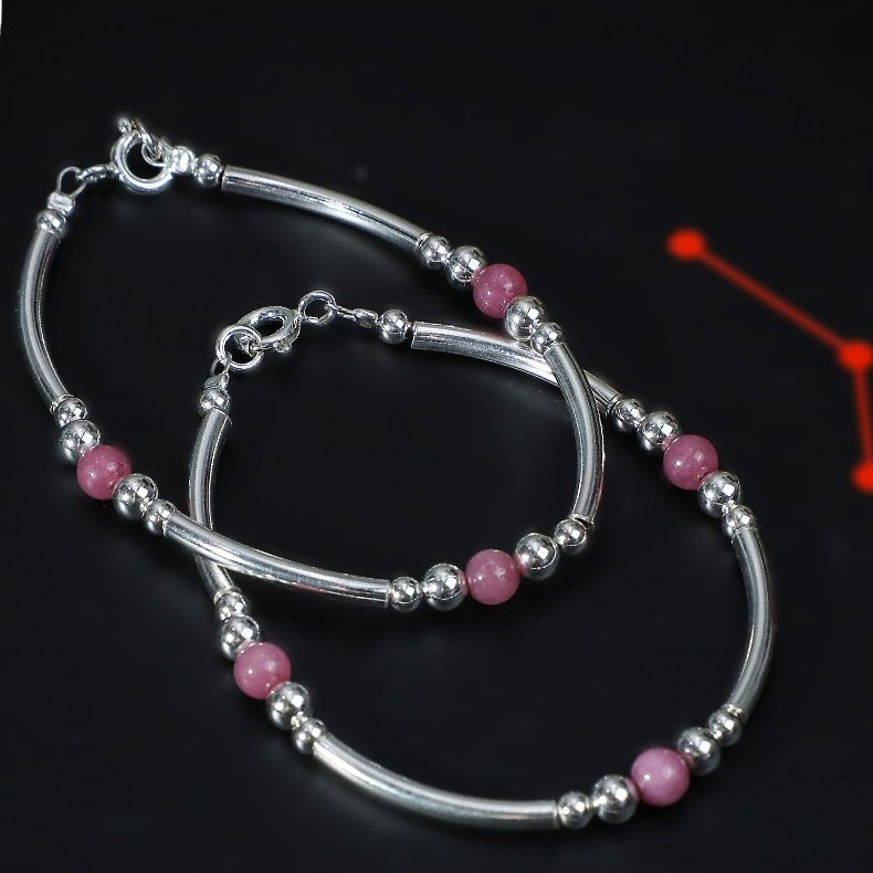 92.5 Silver Kids Fancy Bracelet PJ KD002
