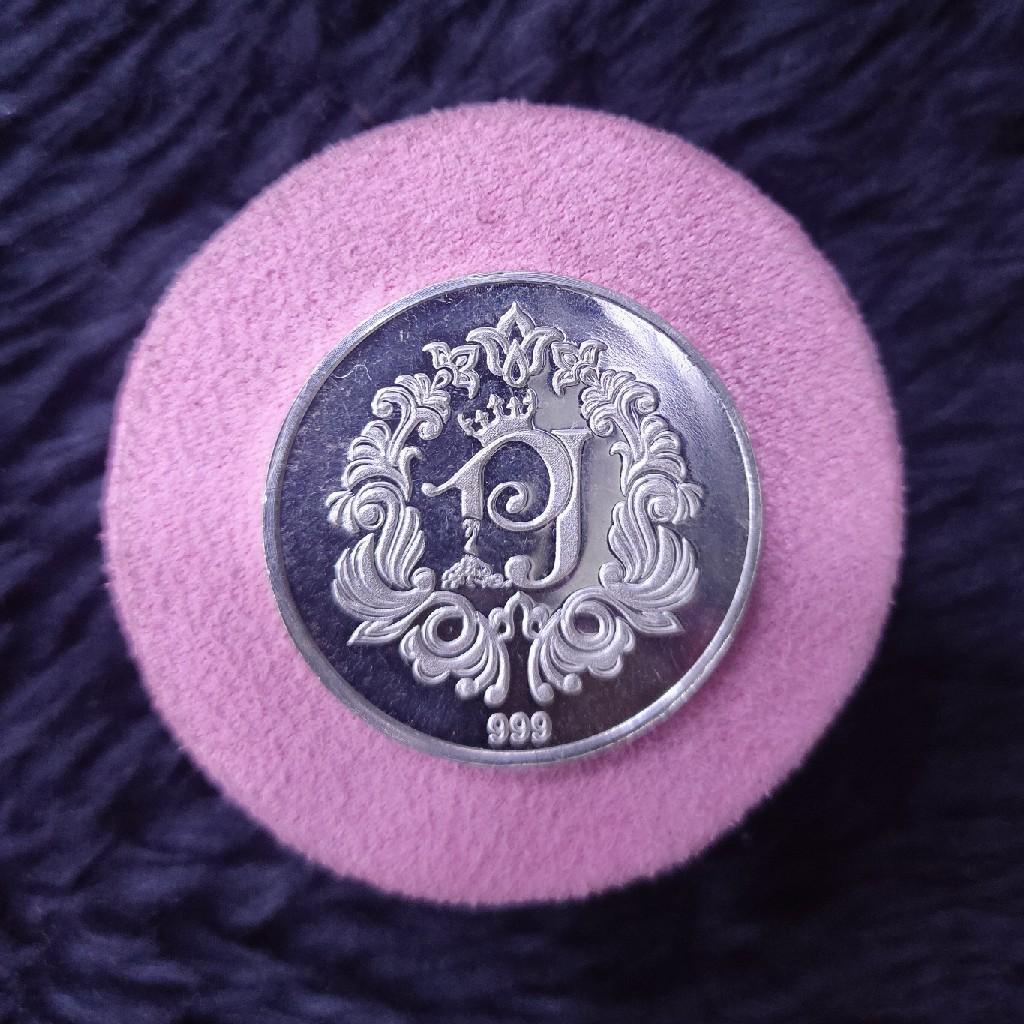 999 silver ten (10)gram customise  silver coin