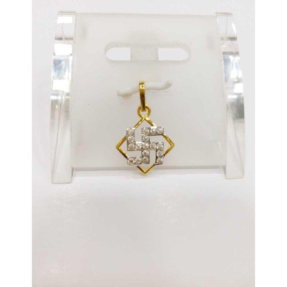 760 gold fancy pendants rj-055