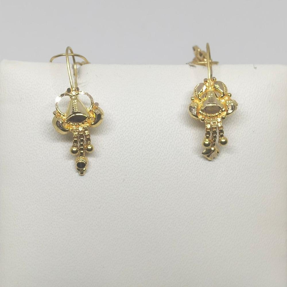 18Kt gold earring dj-e021